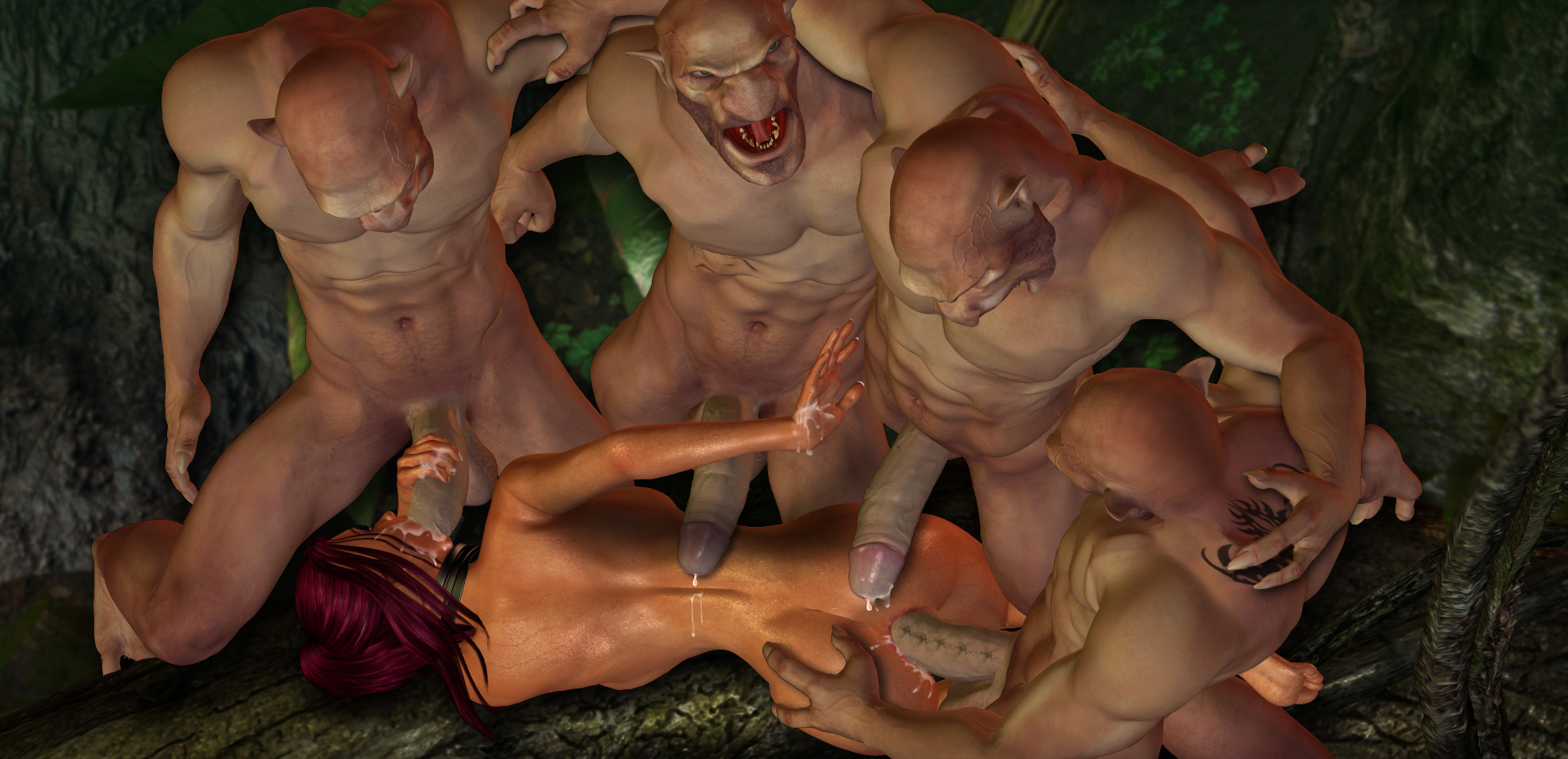 Fantasy erotic monster art sex tube porn scenes