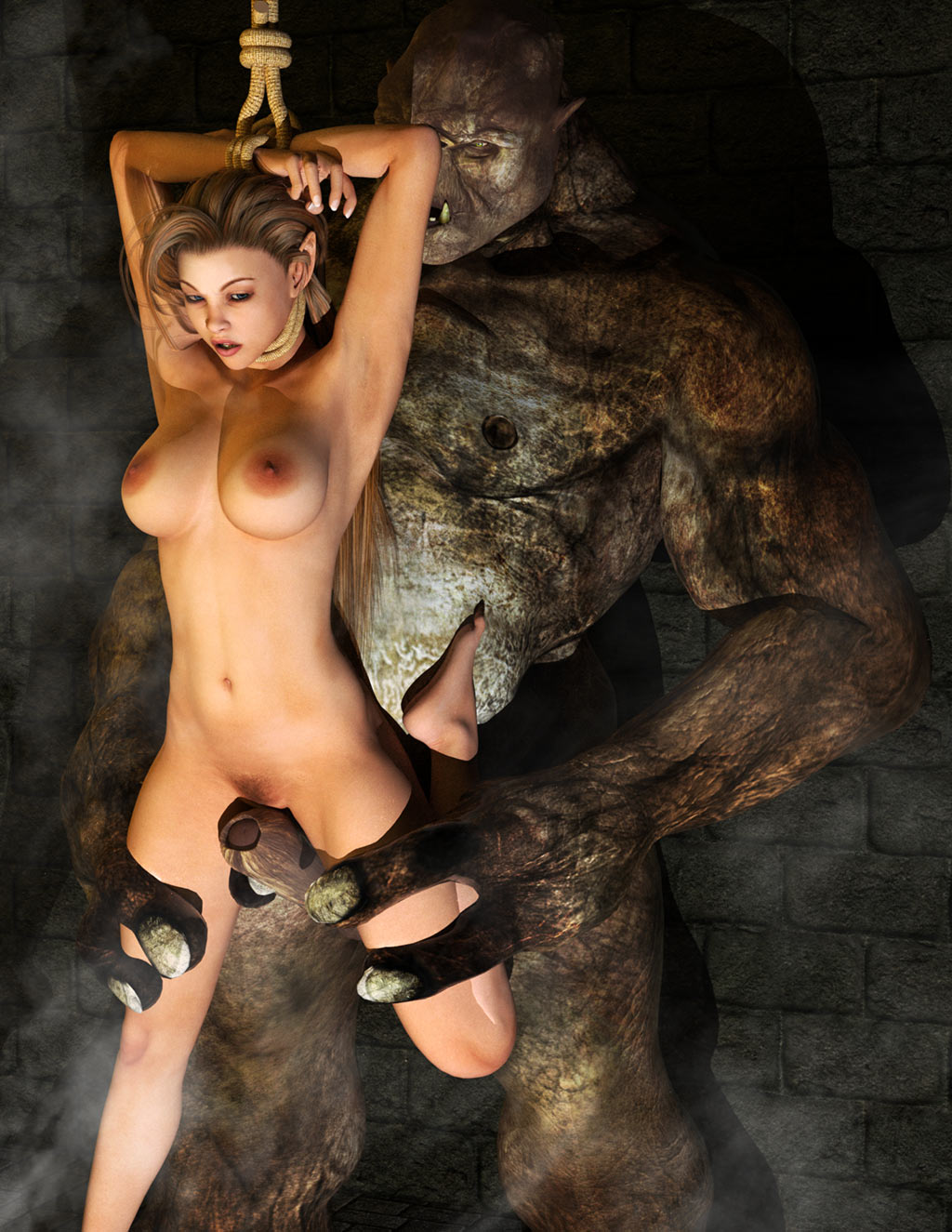 3D Bdsm Movies 3d monsters fucking hot girls, tenctacles porn